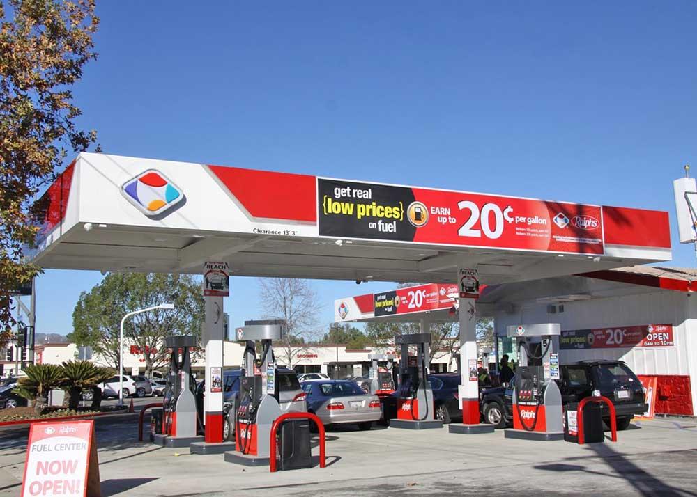 Ralphs Gas Station >> Ralphs Woodland Hills Gas Station Exterior Market Mad House