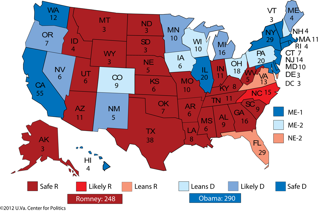 Americas New Political Map  Market Mad House