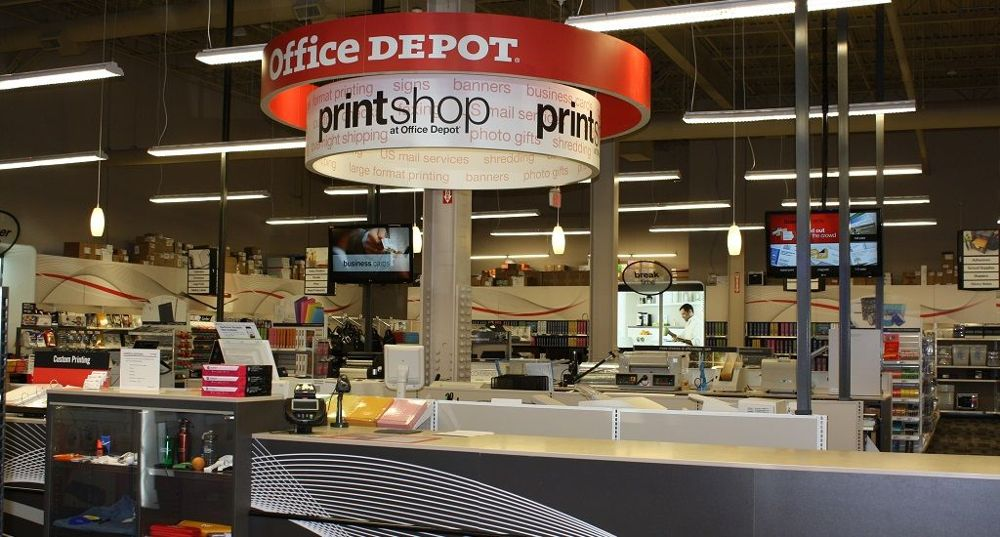 How are office supply stores surviving market mad house - Office depot printing prices ...