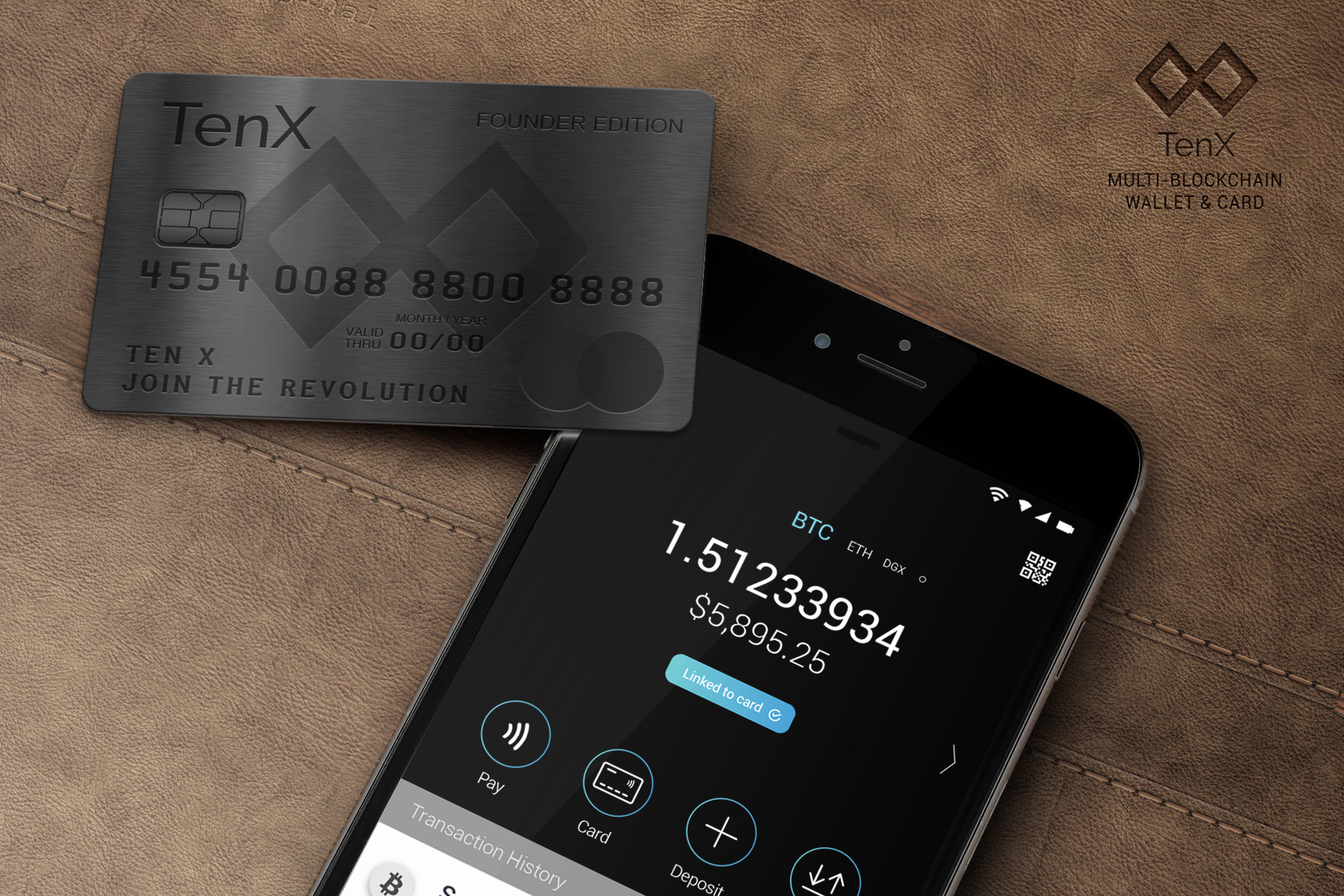 Cryptocurrency that have debit cards